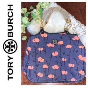 TORY BURCH Linen Tote
